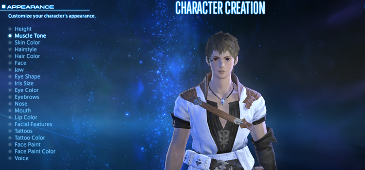 XIV: A Realm Reborn Phase 3 Character Creation Preview - Nova Crystallis