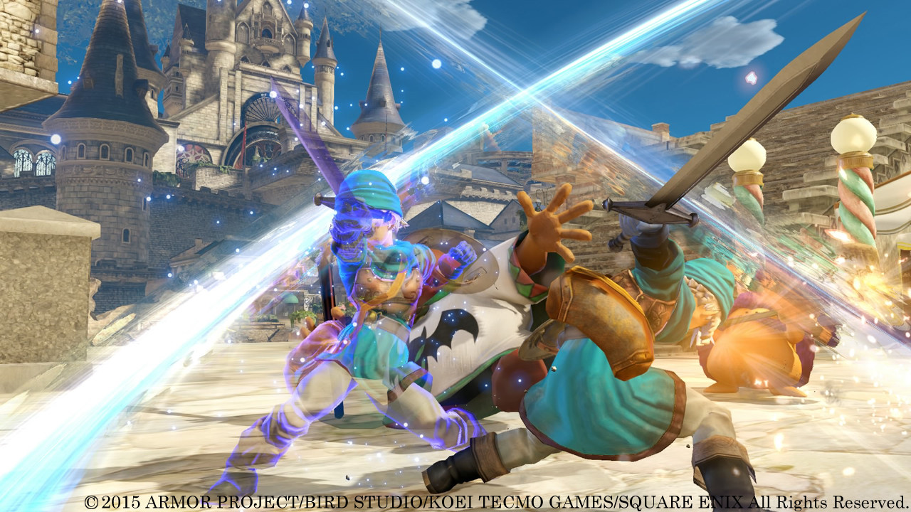 Dragon Quest Heroes compared on PS4 and PS3 - Nova Crystallis