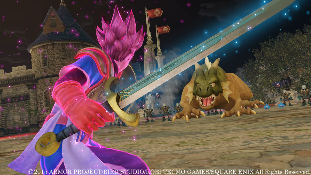Dragon Quest Heroes: King Doric's Royal Overview Trailer