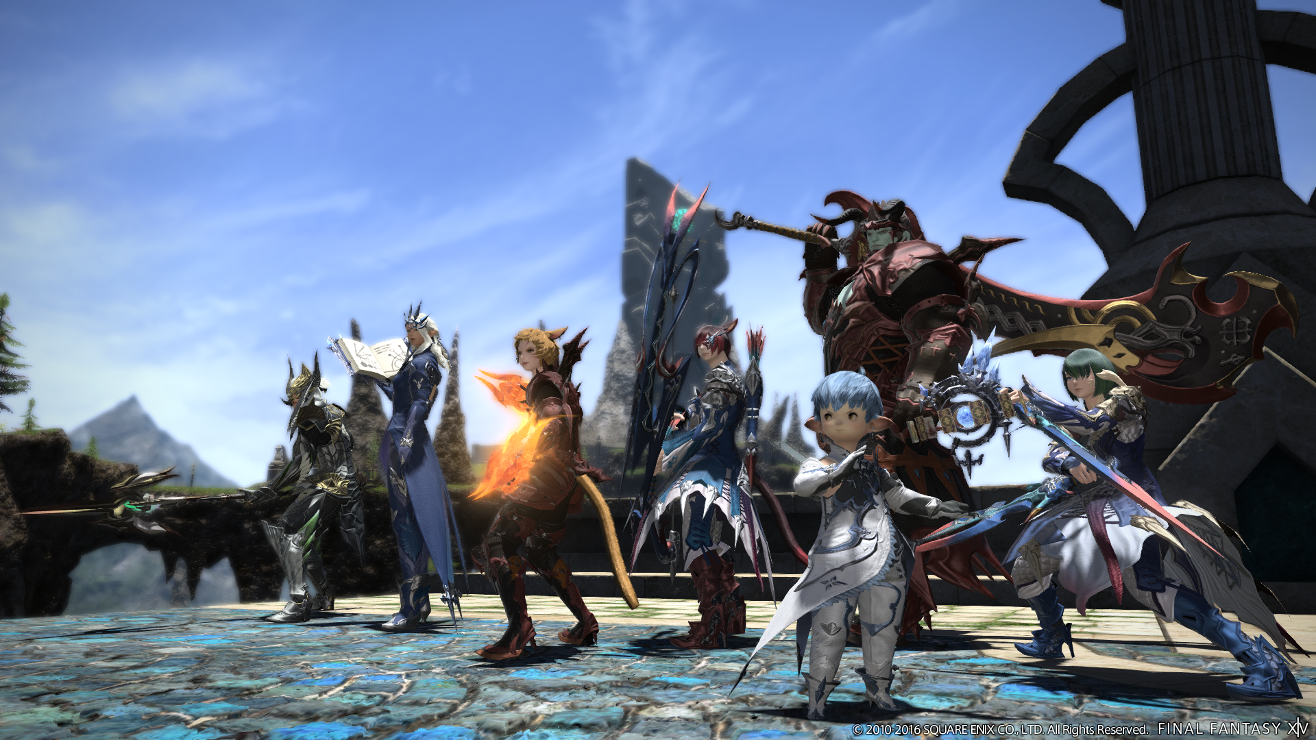 Final Fantasy XIV screenshots detail the new content in