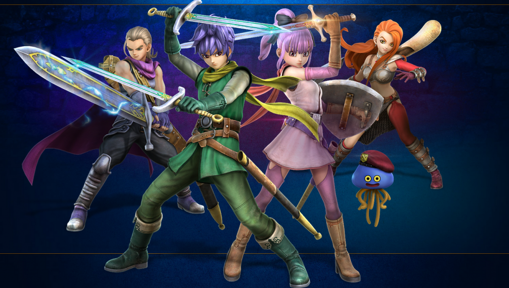 Dragon Quest Heroes II protagonists' Japanese voice actors revealed