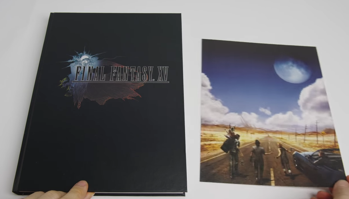Feast your eyes on Final Fantasy XV's Complete Official Guide - Nova Crystallis