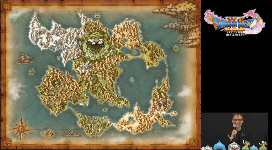 Character And Map Information For Dragon Quest Xi Revealed Nova
