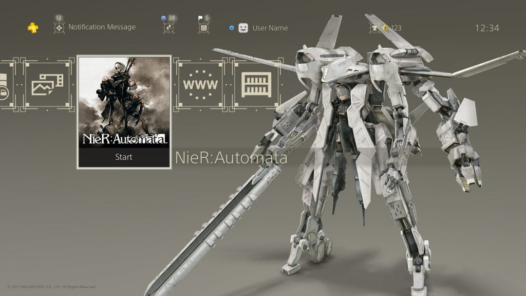 NieR: Automata PS4 themes now available in Japan