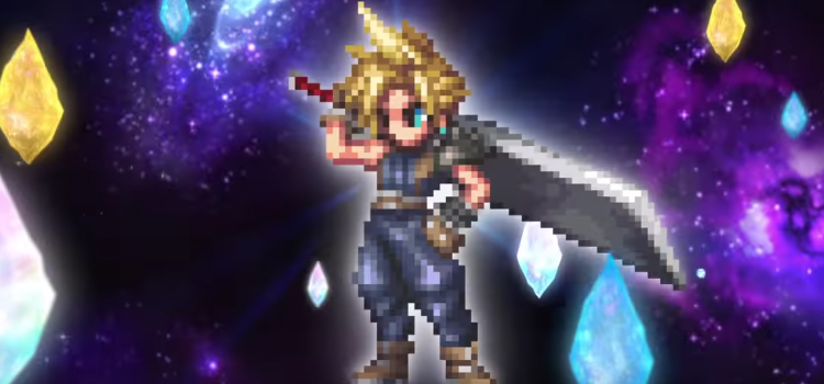 cloud enters the fray in new final fantasy brave exvius commercials