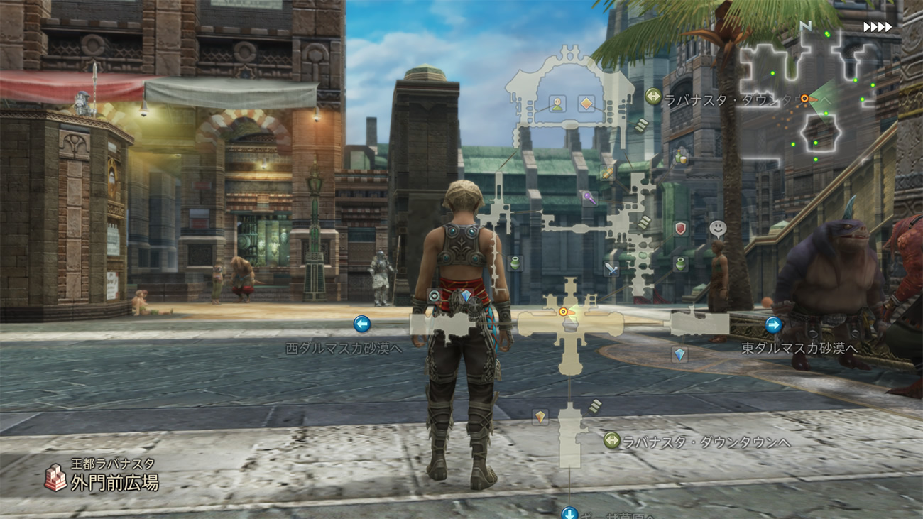 Final Fantasy XII: The Zodiac Age sample videos feature