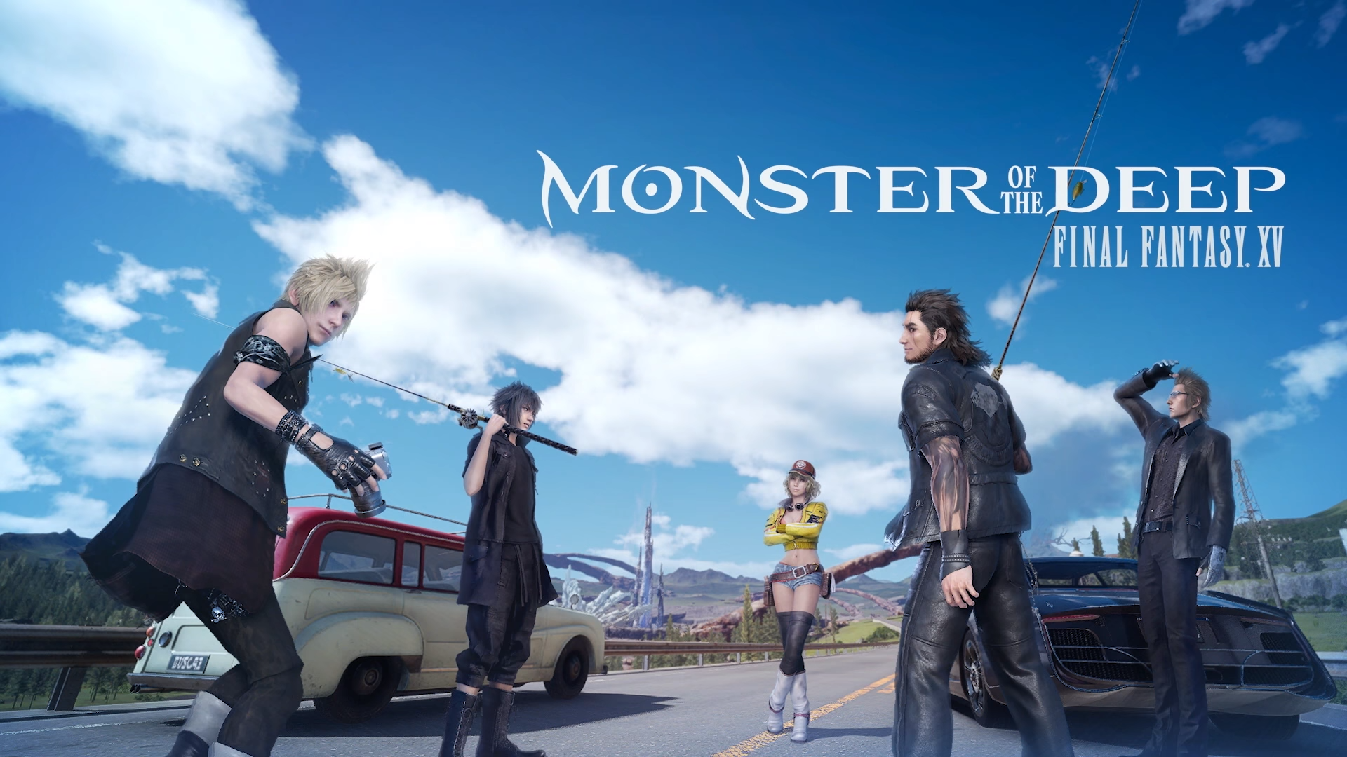 Monster of the deep final fantasy xv out today for for Ffxv fishing rods