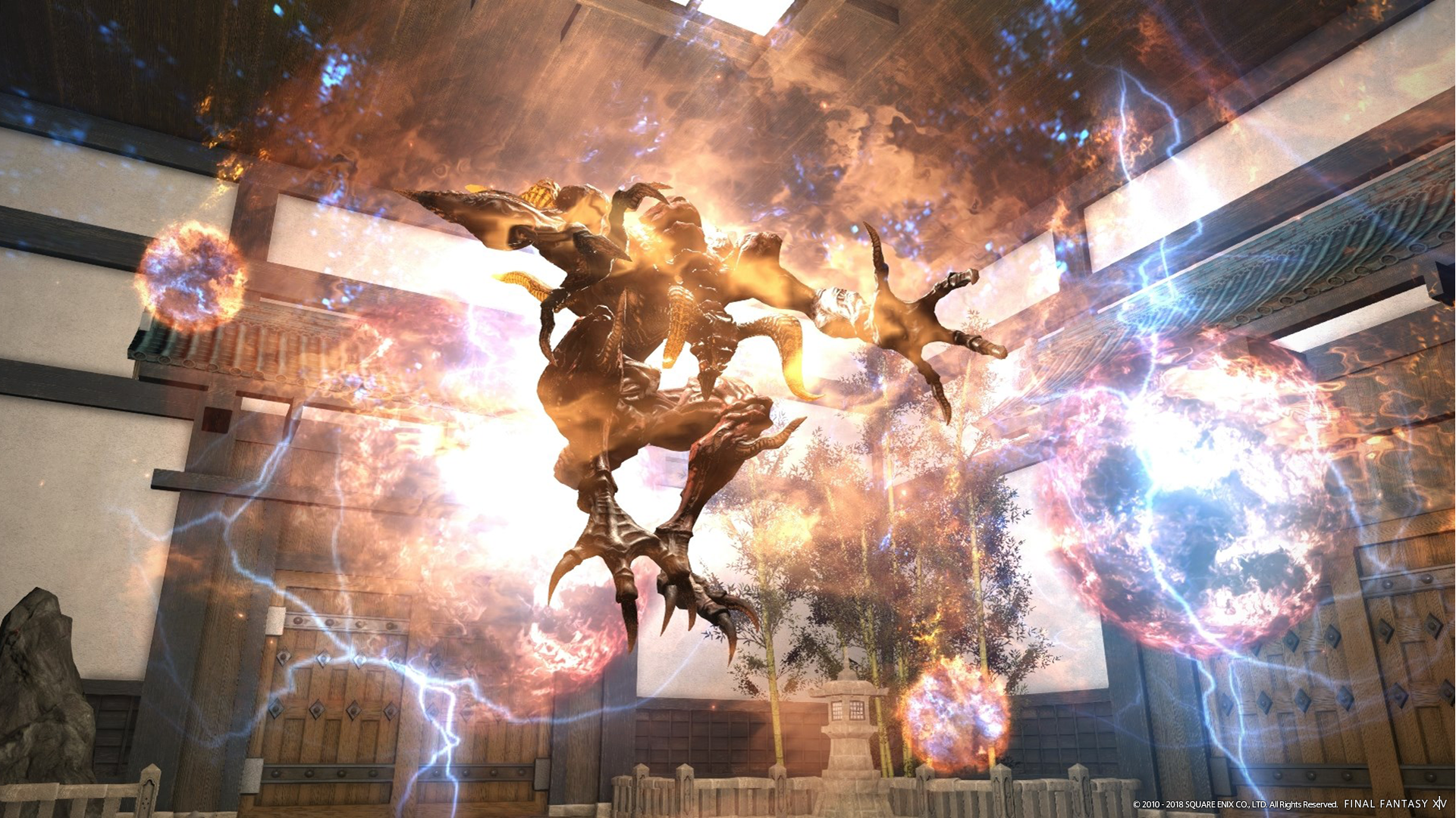 Final Fantasy Xiv Opens The Doors To Heaven On High And