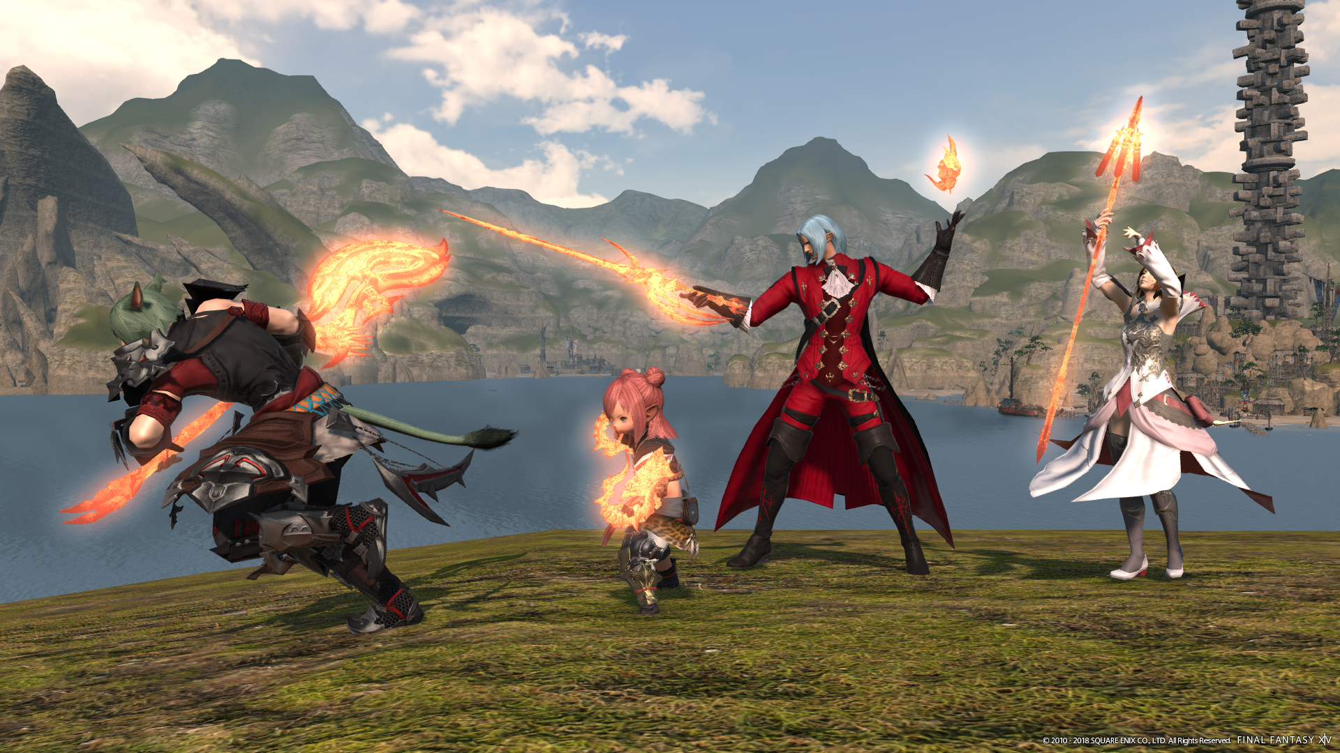 Final Fantasy Xiv Opens The Doors To Heaven On High And The Feast Regional