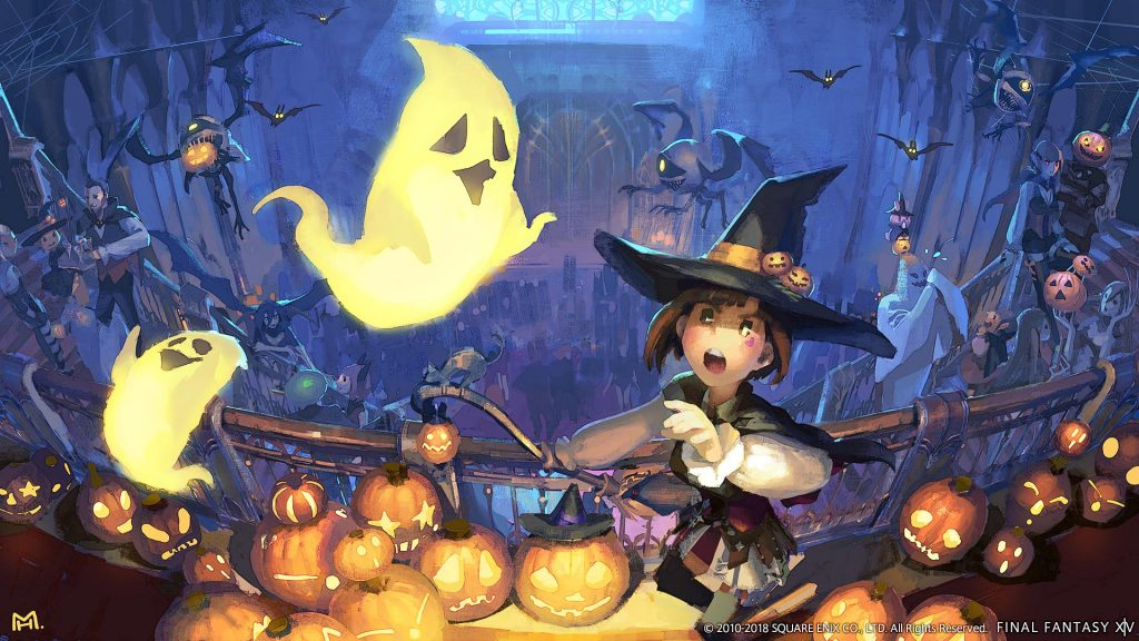 All Saints' Wake seasonal event returns to Final Fantasy XIV on Oct