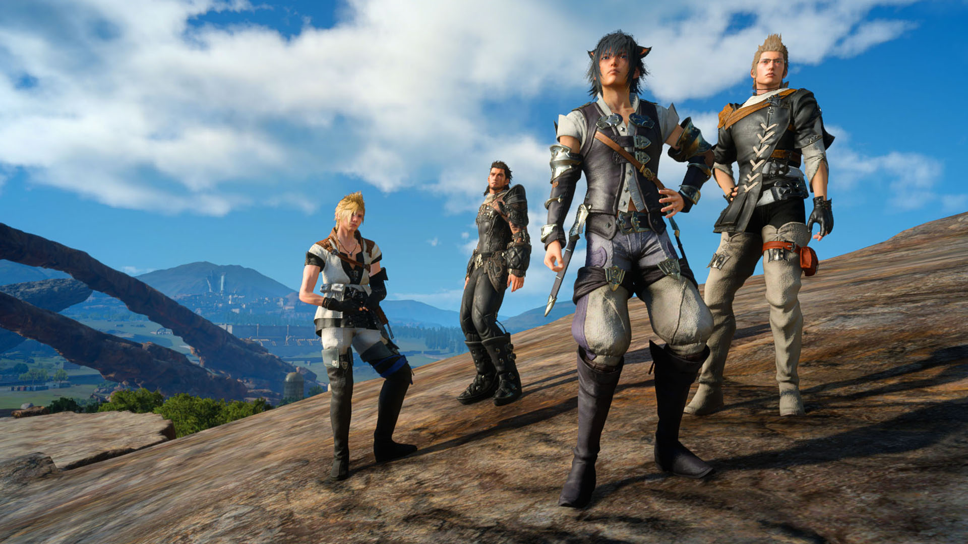 Final Fantasy XV x Final Fantasy XIV collaboration quest